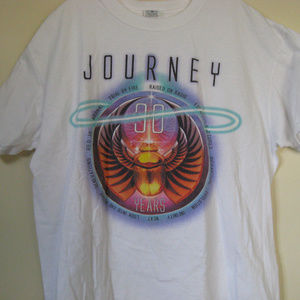 Journey 30 Years Concert T Shirt Size XL
